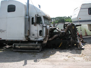 Accident Reconstruction Commercial Vehicle