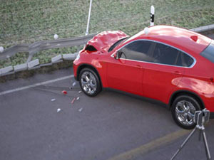 Evidence Preservation 3D Vehicle Scanning